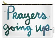 Prayers Going Up- Art By Linda Woods Carry-all Pouch