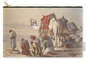 Prayers In The Desert Carry-all Pouch