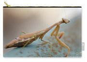 Praying Mantis Close Up Carry-all Pouch