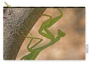 Praying Mantis On The Hunt Carry-all Pouch