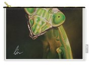 Praying Mantis Poster Carry-all Pouch
