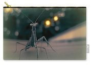 Praying Mantis Visit Carry-all Pouch