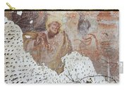 Praying Saint - Old Mural Painting Carry-all Pouch
