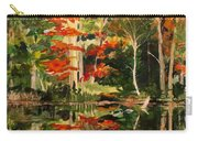 Prentiss Pond, Dorset, Vt., Autumn Carry-all Pouch