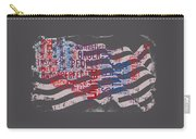 Preamble To The Constitution On Us Map Carry-all Pouch