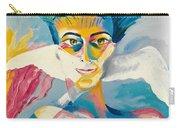 Preciada Azancot Self-portrait With A Dove Carry-all Pouch
