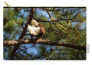 Preening Bald Eagle Carry-all Pouch