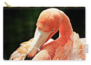 Preening Flamingo Carry-all Pouch