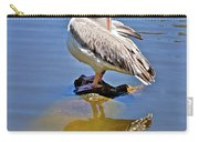 Preening Pelican Carry-all Pouch