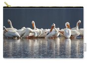 Preening Pelicans Carry-all Pouch