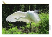 Preening The Wings Carry-all Pouch