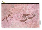 Prehistoric Hunter Carry-all Pouch