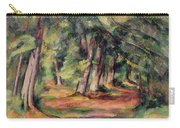 Pres Du Jas De Bouffan Carry-all Pouch by Paul Cezanne