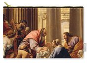 Presentation In The Temple Carry-all Pouch by Simon Vouet