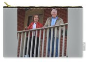 President And Mrs Carter On Plains Inn Balcony Carry-all Pouch