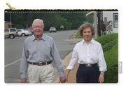 President And Mrs. Jimmy Carter Carry-all Pouch