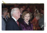 President And Mrs. Jimmy Carter Nobel Celebration Carry-all Pouch