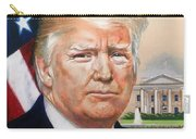 President Donald Trump Art Carry-all Pouch