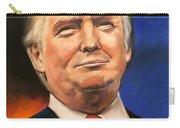 President Donald Trump Portrait Carry-all Pouch
