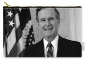 President George Bush Sr Carry-all Pouch