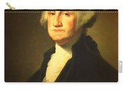 President George Washington Portrait And Signature Carry-all Pouch