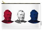 President Grant Red White And Blue Carry-all Pouch