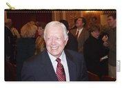 President Jimmy Carter - Nobel Peace Prize Celebration Carry-all Pouch