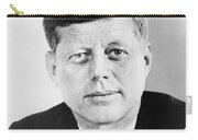 President John F. Kennedy Carry-all Pouch