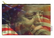 President Kennedy - Digital Art Carry-all Pouch