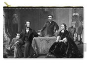 President Lincoln And His Family  Carry-all Pouch by War Is Hell Store
