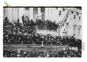 President Lincoln Gives His Second Inaugural Address - March 4 1865 Carry-all Pouch