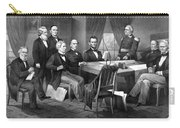 President Lincoln His Cabinet And General Scott Carry-all Pouch