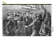 President Lincoln Holding The American Flag Carry-all Pouch by War Is Hell Store