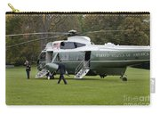 President Obama Walking Toward Marine One Carry-all Pouch