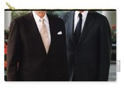 President Reagan And George H.w. Bush - Official Portrait  Carry-all Pouch