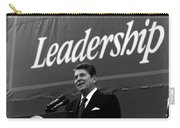 President Ronald Reagan Leadership Photo Carry-all Pouch