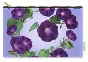 President Tyler Morning Glory Carry-all Pouch