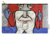 Presidential Tooth 2 Carry-all Pouch by Anthony Falbo