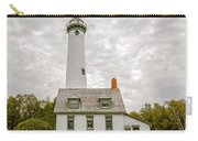 Presque Isle Lighthouse  - Lake Huron, Lower Peninsula, Mi Carry-all Pouch