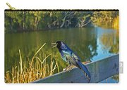 Pretty Bird At A Sunrise Carry-all Pouch