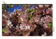 Pretty Blossoms Carry-all Pouch