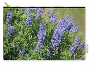 Pretty Blue Flowers Of Silky Lupine Carry-all Pouch