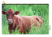 Pretty Brown Cow  Carry-all Pouch