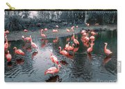 Pretty Flamingoes Carry-all Pouch