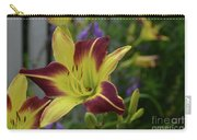 Pretty Flowering Lily In A Garden  Carry-all Pouch