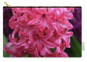 Pretty Hot Pink Hyacinth Flower Blossom Blooming Carry-all Pouch
