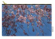 Pretty In Pink - A Flowering Cherry Tree And Blue Spring Sky Carry-all Pouch
