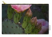 Pretty In Pink Prickly Pear  Carry-all Pouch