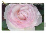 Pretty In Pink Rose Carry-all Pouch