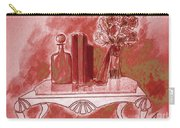Pretty In Red Carry-all Pouch